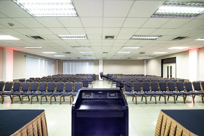 The WTC conference venue will be used to host the supreme electoral advisory of Curaçao.