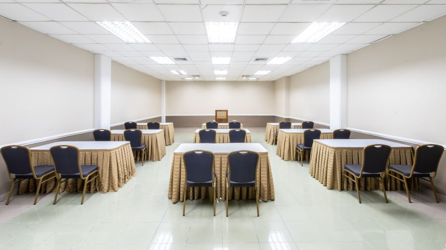 The WTC classroom facilities include all equipment and furnishing necessary for lectures.
